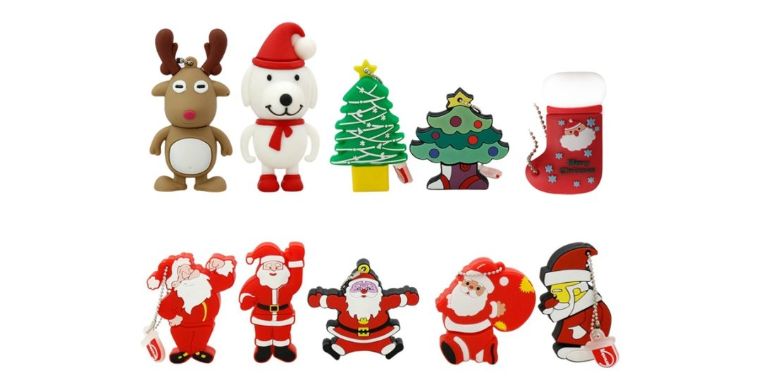 Christmas gift USB flash drive for promotion UP12