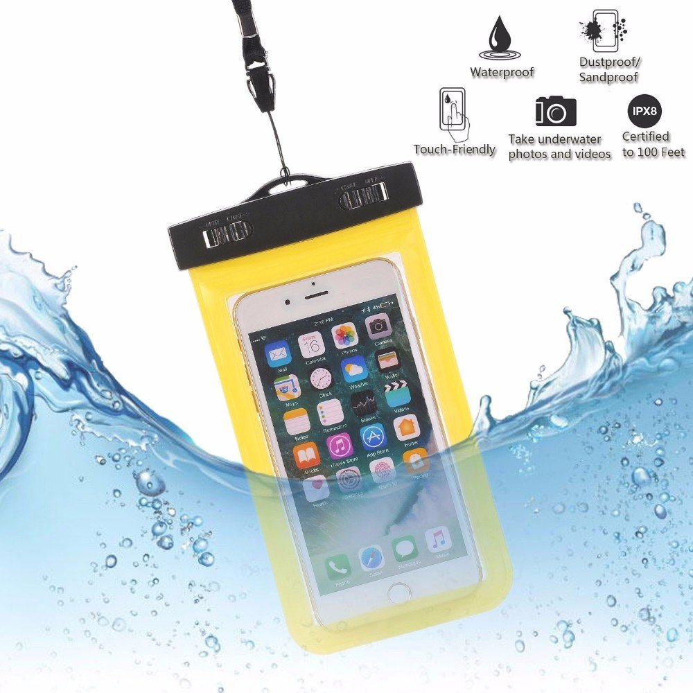 Universal Waterproof Bags Underwater Phone Case For iPhone 01