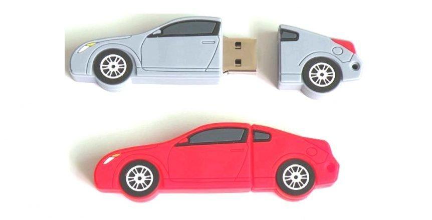 custom car-shaped USB flash drive UP01