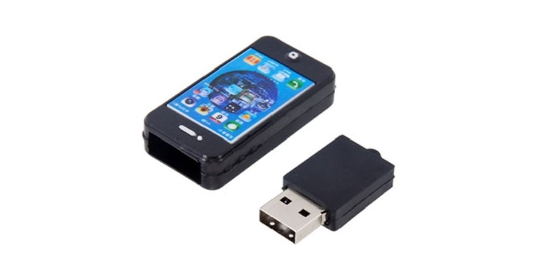 promotional mobile phone shaped USB flash drive UP15