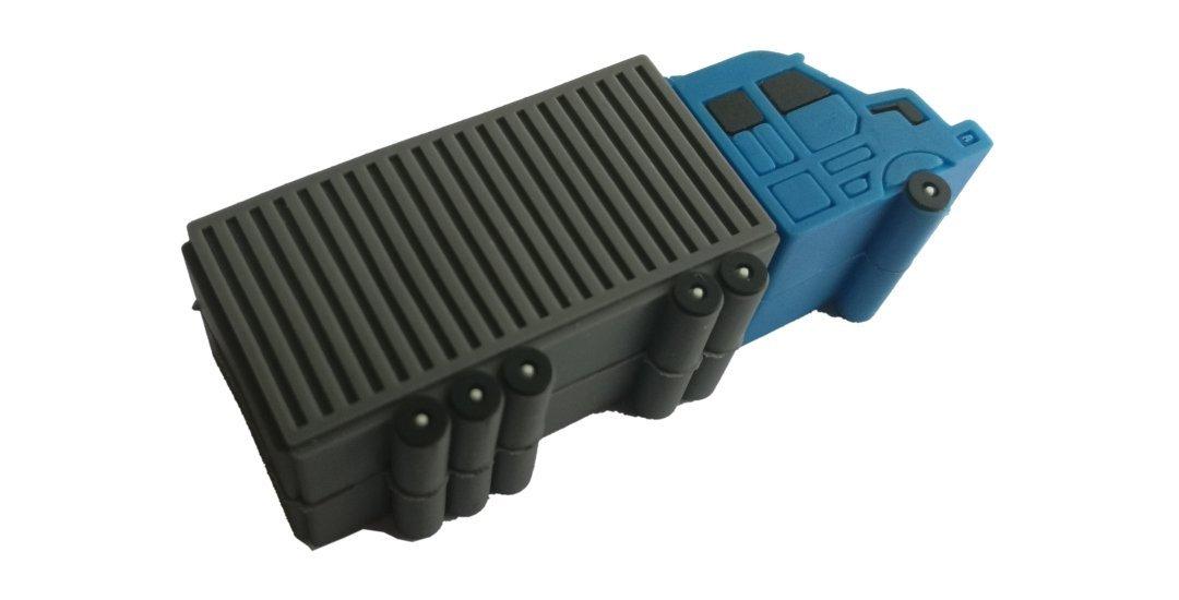 van truck style USB stick transport company gift UP08